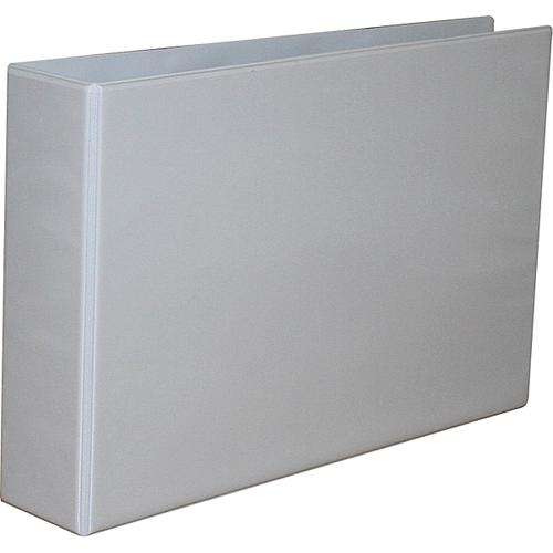 Langstane Presentation Lever Arch File A3 70mm Spine White [Pack  6]