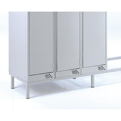 Link Locker Dry Area Support Stand Nest of 3 900w x 450d mm