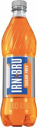 Sugar Free Irn Bru Soft Drink Bottle 500ml [Pack 12]