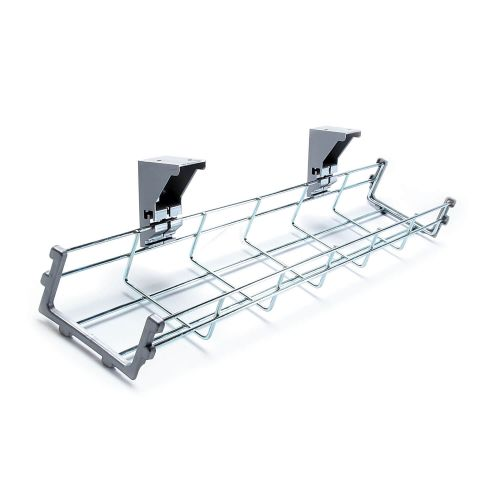 L&P LIBRA Wire Mesh Cable Tray for 1600mm Workstation