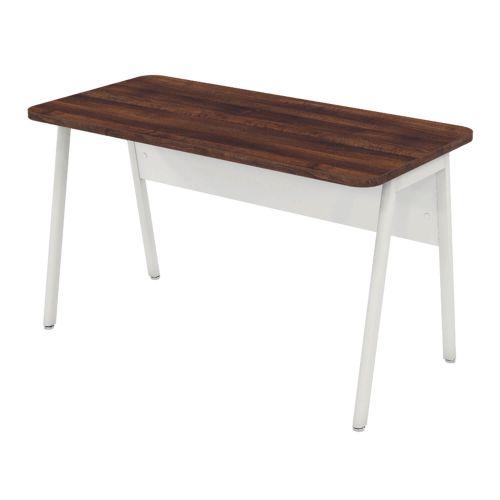 L&P ASCEND 1200 Return Desk Walnut