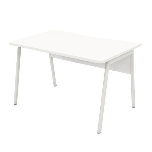L&P ASCEND 1200 Rectangular Desk White/White