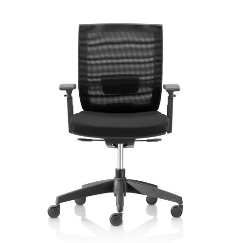 DRAYTON Black Task Chair (without headrest and seat slide)