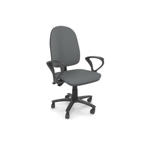 L&P LENWADE Task Chair with Fixed Arms