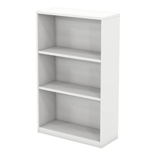 L&P INFINITY 1309H x 800W 2-Shelf Bookcase White