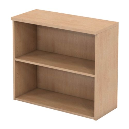 L&P INFINITY 725H x 800W 1-Shelf Bookcase Beech