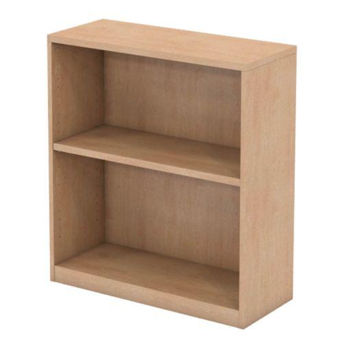 L&P INFINITY 893H x 800W 1-Shelf Bookcase Beech