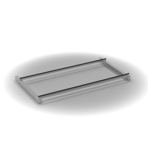 L&P Sig lateral filing frame for wooden door cupboards silver (not for tambours)