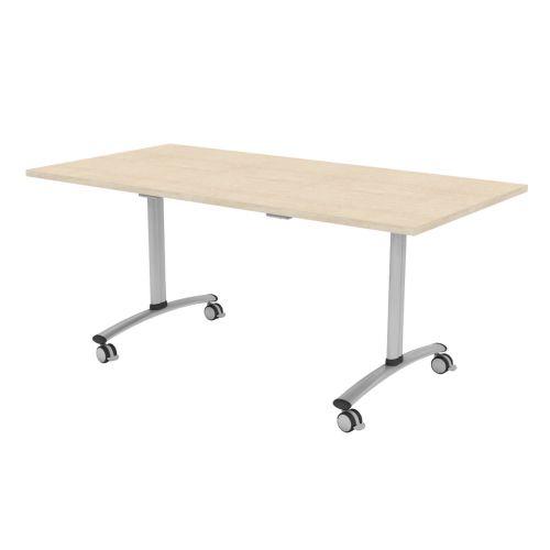 L&P TILT TOP Rectangular Table 1600mm Silver Maple
