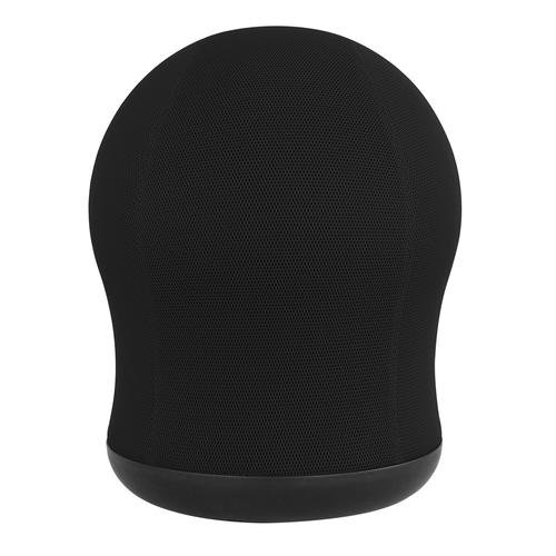 Safco Zenergy Swivel Ball Chair Black Mesh with 360 deg Swivel Base 4760BL
