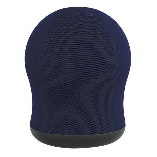 Safco Zenergy Swivel Ball Chair Blue Mesh with 360 deg Swivel Base 4760BU