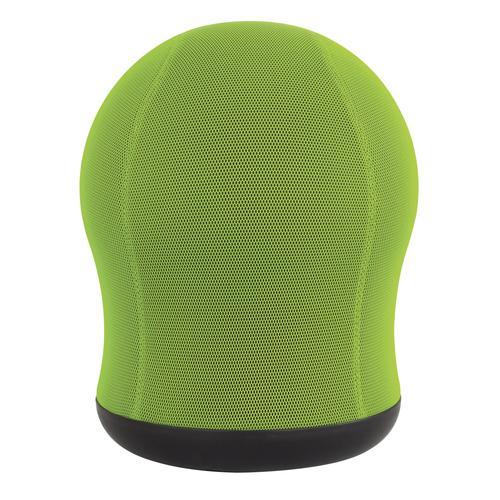 Safco Zenergy Swivel Ball Chair Green Mesh with 360 deg Swivel Base 4760GN