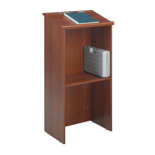 Safco Stand Up Lectern 1164hx584wx400d Cherry 8915CY