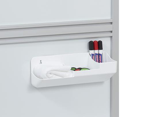 Langstane Maxi Magnetic Pen and Accessory Holder White LPA00088