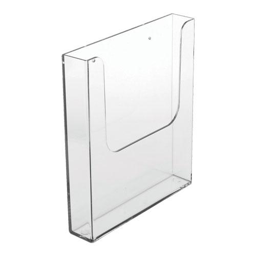 Magnetic A4 Portrait Leaflet Holder Clear AA4001PM