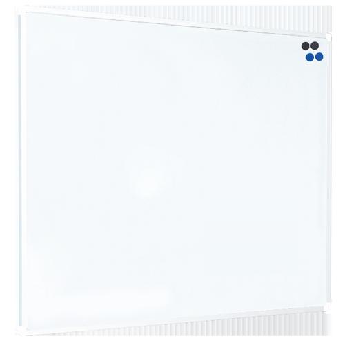 Langstane WHITE Aluminum Frame Magnetic Steel Drywipe Board 1200x900mm LPBC1004WHI