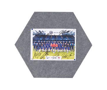 MagiShape small Hexagon board 50x43cm Dark Grey PK3