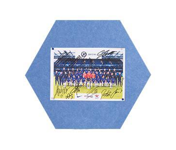 MagiShape small Hexagon board 50x43cm Light Blue PK3
