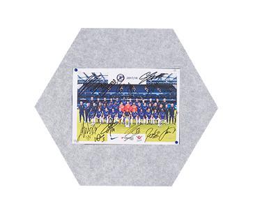 MagiShape small Hexagon board 50x43cm Light Grey PK3