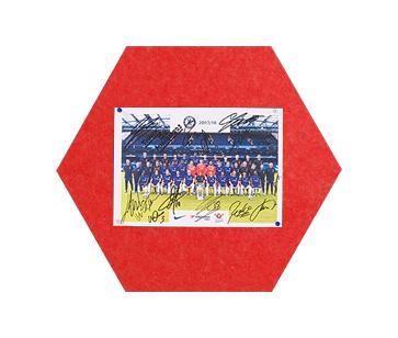 MagiShape small Hexagon board 50x43cm Red PK3