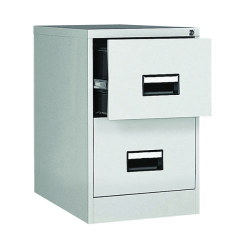 Contract 2 Drawer Filing Cabinet 730H X 460W X 620D Grey