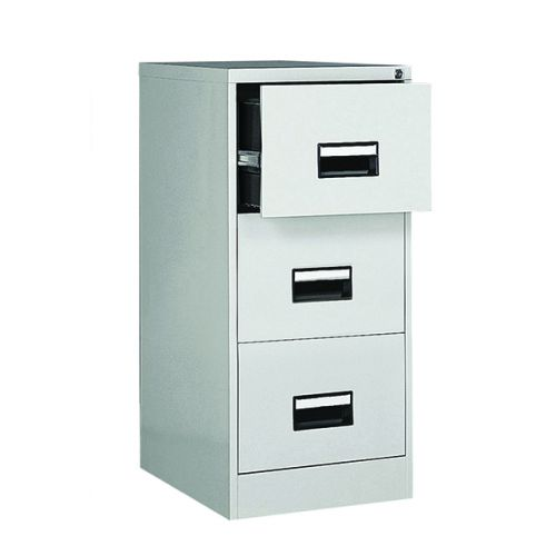Contract 3 Drawer Filing Cabinet 1024H X 460W X 620D Grey