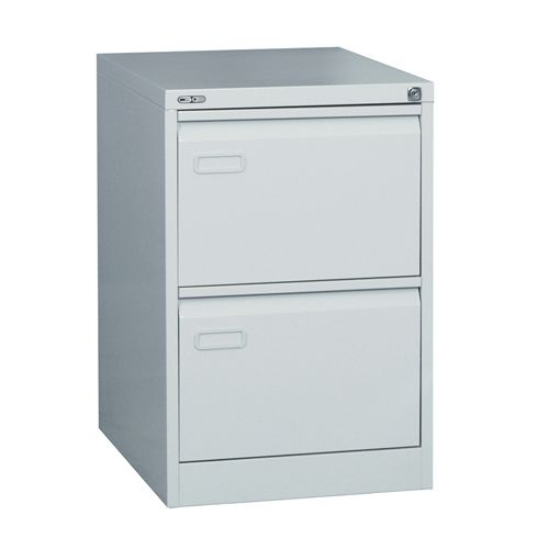 Mainline 2 Drawer Filing Cabinet 705H X 460W X 620D Grey