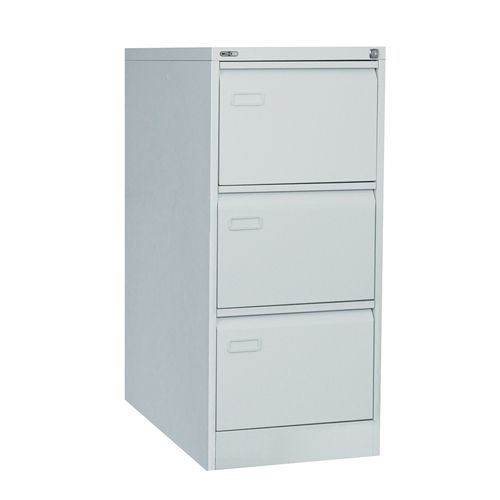 Mainline 3 Drawer Filing Cabinet 1016H X 460W X 620D Grey