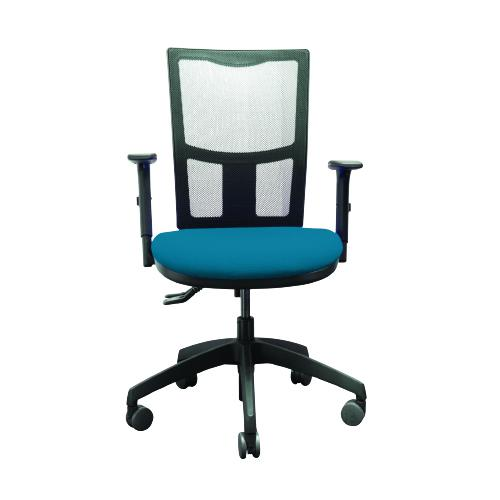 Operator Mesh Back Chair With Height Adjustable Arms