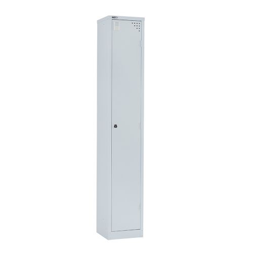 Single Door Locker 1778H X 305W X 457D Grey With Key Lock
