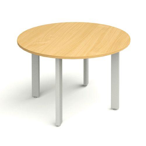 Round Meeting Table 1200 diameter Beech