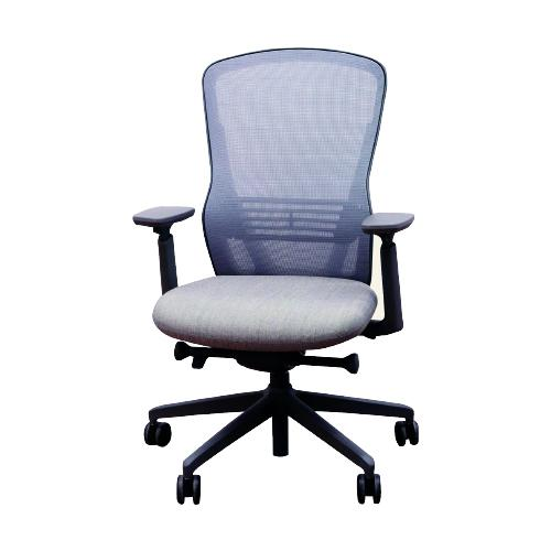 Ousby high back operator chair with height adjustable arms