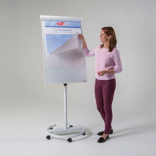 Ultimate Mobile Flipchart Easel - White