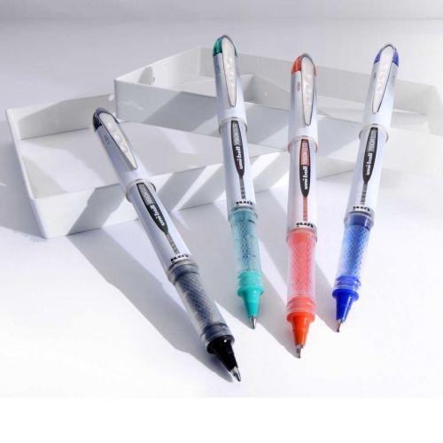 Uni-ball Vision Elite UB-200 0.8mm Tip Rollerball BLUE Pen Pack Of 10