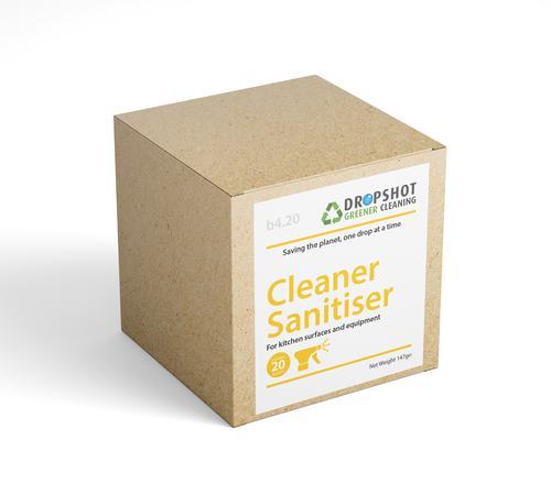 Dropshot Cleaner Sanitiser Sachets Pack of 20