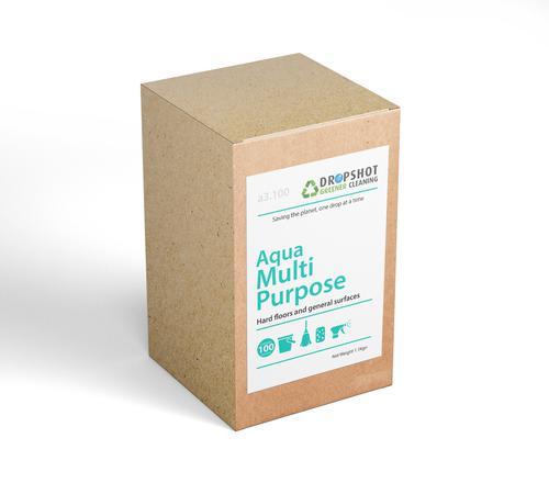 Dropshot Multipurpose Hard Surface Cleaner Sachets Aqua Pack of 100