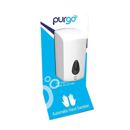 Purgo Touchless Wall Mounted Hand Sanitiser Dispenser