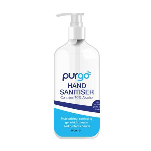 Purgo Hand Sanitiser Gel 70% 500ml