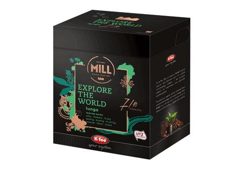 K-fee Mr & Mrs Mill Explore The World Standard Lungo Capsules Pack 12
