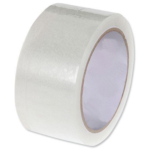 Value Clear Polypropylene Tape 50mm x66m