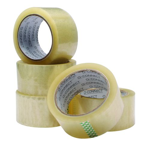 Value Polypropylene Packaging Tape 50mm x66m Clear