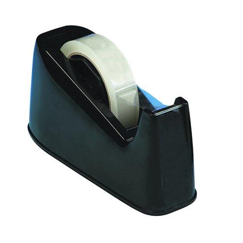 Value Desk Tape Dispenser Large Black