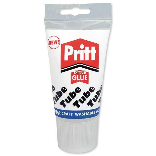 Pritt Transparent PVA Craft Glue 135ml 830199