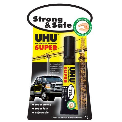 UHU All Purpose Super Strong & Safe Glue 7g 3-39722