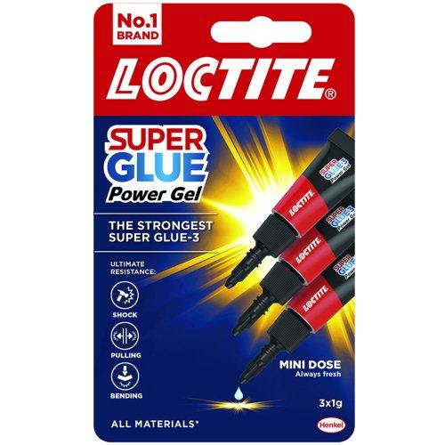Loctite Power Gel Trio Super Glue 1g (3) 2642101