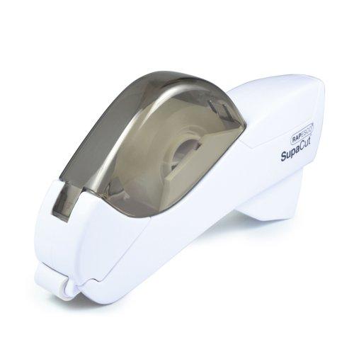 Rapesco SupaCut Tape Dispenser White +2 Rolls 1445