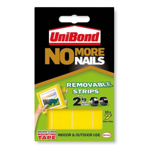 UniBond No More Nails Strip Removable 1507604
