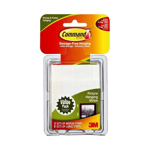 3M Command Picture Hanging Value Pack