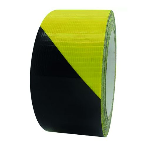 Beaverswood Waterproof Gaffer Tape 50mm x33m Black/Yellow GLMT50/BY