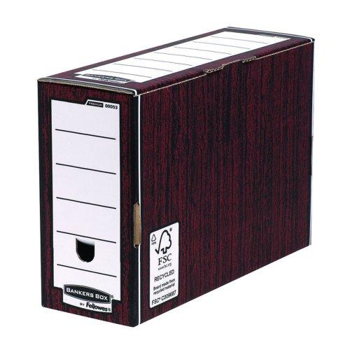 Fellowes Bankers Box Premium Transfer File Woodgrain (5) 0005305